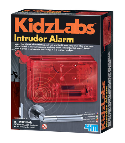 4m red kidzlabz intruder alarm