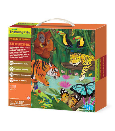 4m 3d floor puzzles rainforest