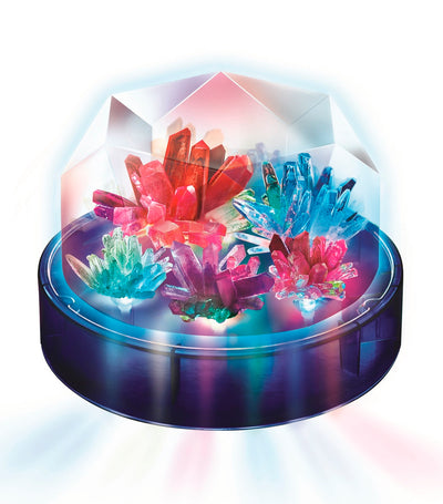 4m crystal growing – colour changing crystal light