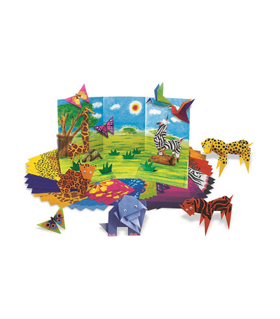 4m origami zoo animals