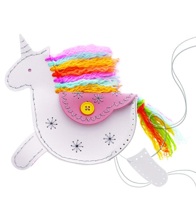 4m my unicorn faux leather pouch