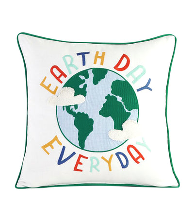pottery barn kids earth day pillow