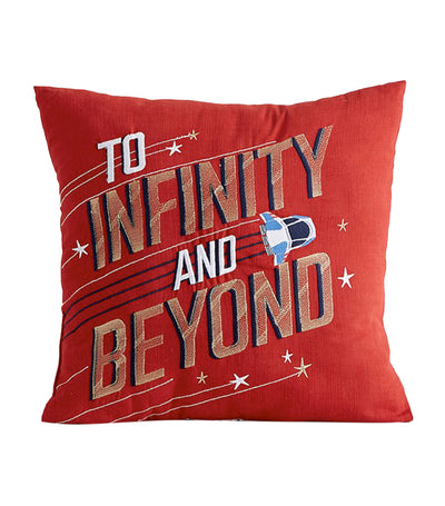 pottery barn kids disney and pixar toy story to infinity and beyond pillow
