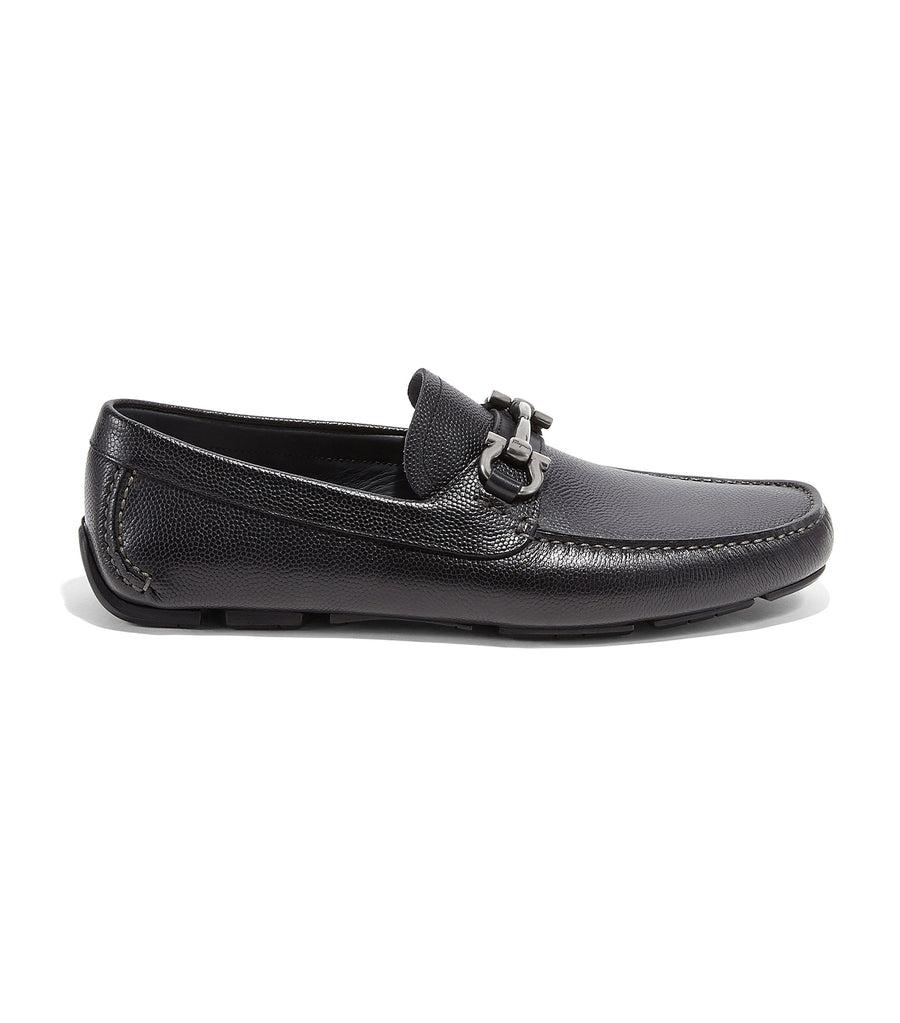Gancini Moccasin Black