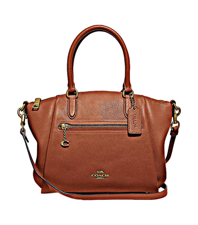 Elise Leather Satchel 1941 Saddle