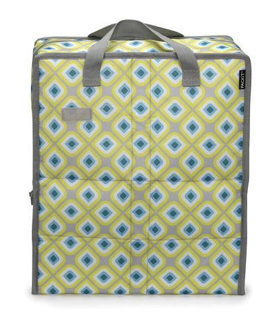 packit freezable grocery bag - geometric