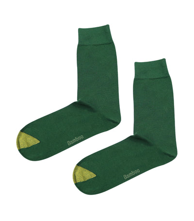 gold toe elements bamboo colored plain dress socks green