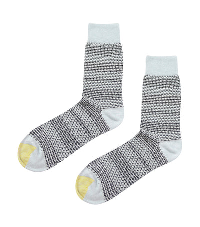 gold toe premier stripes mesh dress socks gray