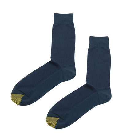 gold toe premier plain mesh dress socks dark blue
