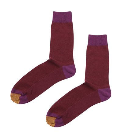 gold toe premier plain mesh dress socks maroon