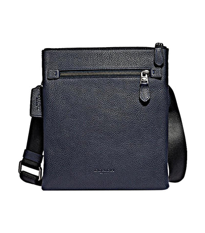 Metropolitan Soft Leather Small Messenger Midnight