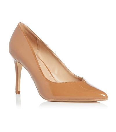 Alexxis Platform Court Shoes Nude