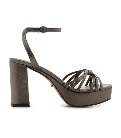 Strappy High Heel Sandal Grafite