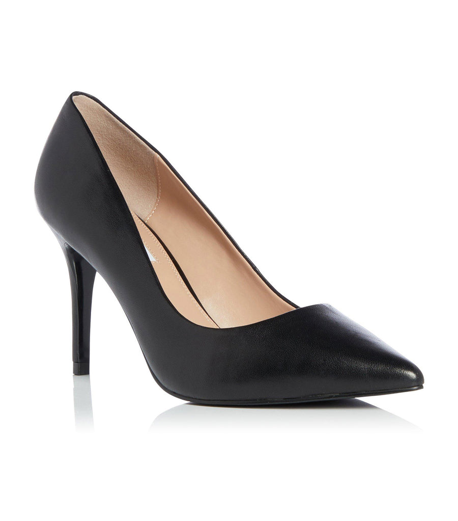 Aurrora Di Mid Heel Court Shoes Black