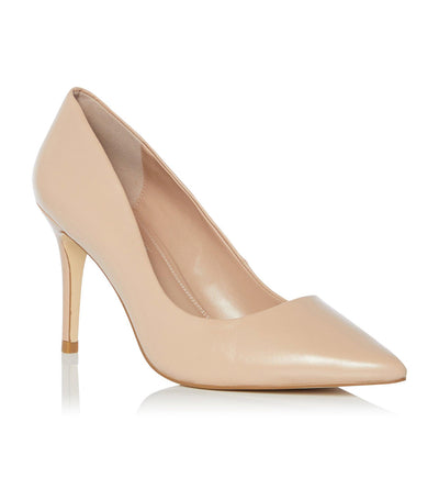 Aurrora Di Mid Heel Court Shoes Nude