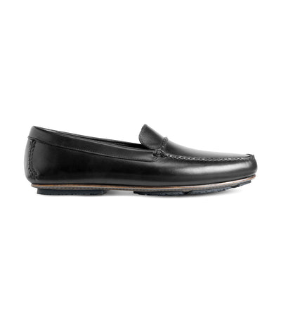 allen edmonds super sport black driving loafer