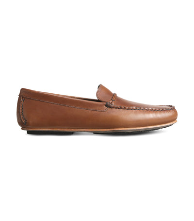 allen edmonds super sport brown driving loafer