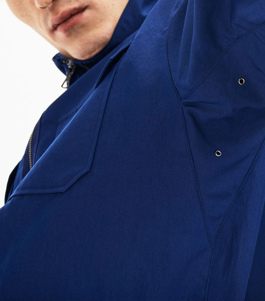 Men's Detachable Hood Ultra-Light Short Jacket Blue