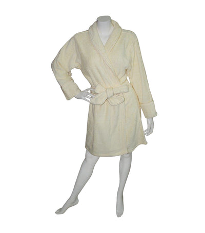 Terry Bathrobe - Silk Maze