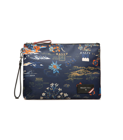 Explore Fholler Clutch Multi Blue Sky