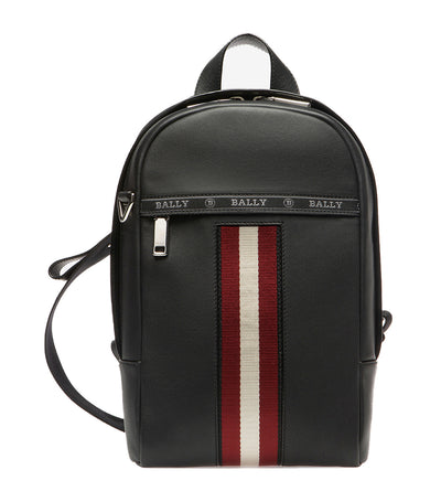 High Point Hari Leather Sling Bag Black