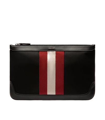 Zurigo Cayard Techno Nylon Clutch Black