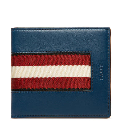 High Point Brasai Leather Wallet Blue Sky