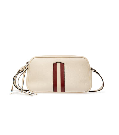 Melodia Miryah Leather Mini Bag Bone