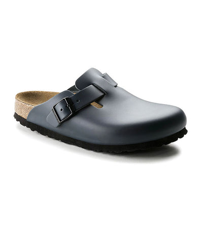 Birkenstock Boston Smooth Leather - Blue