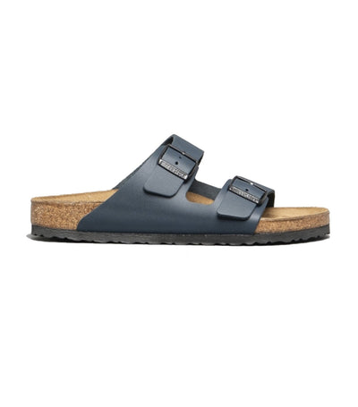 birkenstock arizona smooth leather - blue