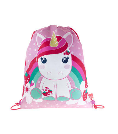 candy cloud bella drawstring bag