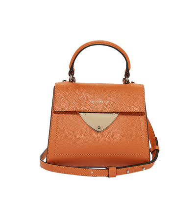 coccinelle b14 mini handbag orange
