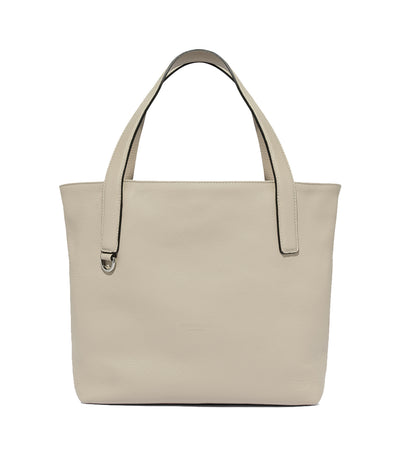 coccinelle mila medium tote bag beige