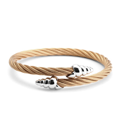 Bangle Celtic Coquille Rose Gold