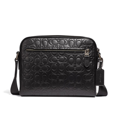 Metropolitan Signature Leather Camera Bag Black