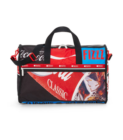 Coca-Cola x LeSportsac Large Weekender Coca-Cola Goes Along Multi-Color