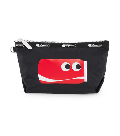 Coca-Cola x LeSportsac Medium Sloan Cosmetic Cute Coke Black