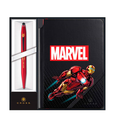 cross marvel tech2 & jotzone iron man ballpoint pen