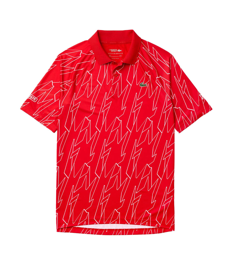 Men's Lacoste SPORT x French Open Ultra Lightweight Stretch Polo Shirt Red