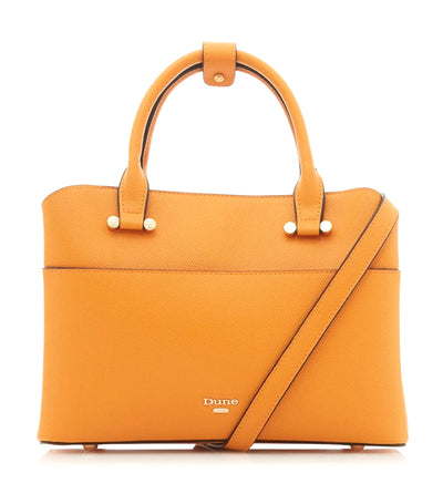 Dinidaring Small Unlined Shopper Bag Orange