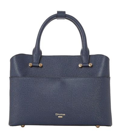 Dinidaring Small Unlined Shopper Bag Navy