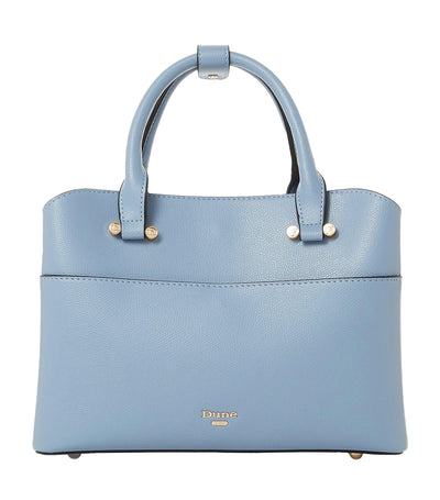 Dinidaring Small Unlined Shopper Bag Pale Blue