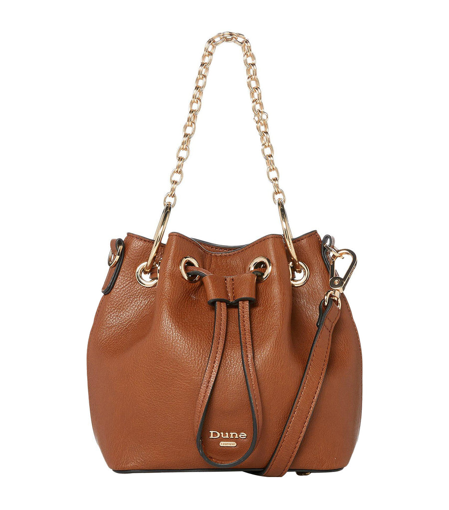 Dintys DI Chain Duffle Bag Tan