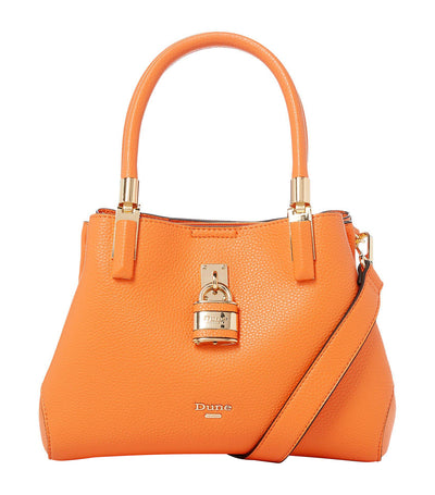 Drayyson DI Padlock Tote Bag Orange
