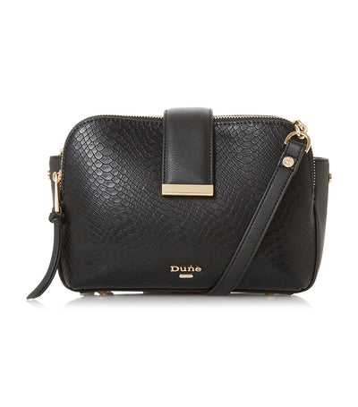 Duilts Small Multiple Compartment Crossbody Bag Black