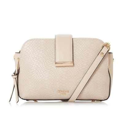 Duilts Small Multiple Compartment Crossbody Bag Nude