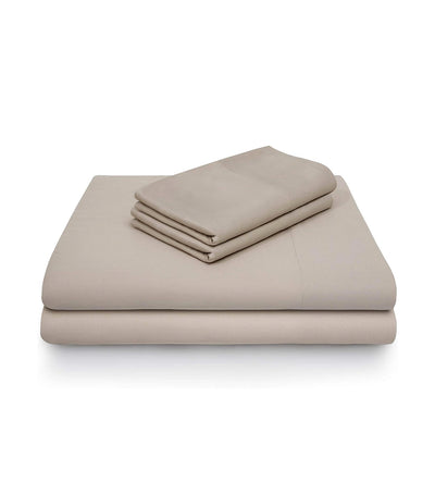 malouf woven™ rayon from bamboo sheet set - driftwood