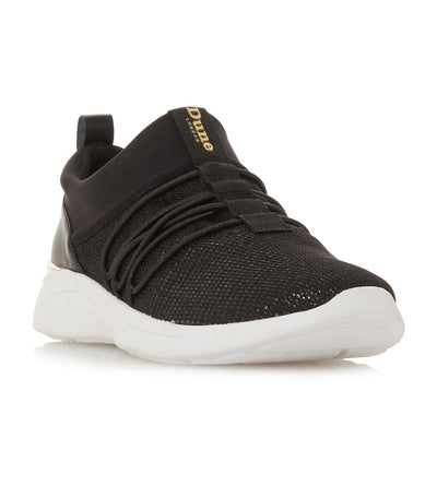 E Elwood Chunky Sole Trainers Black