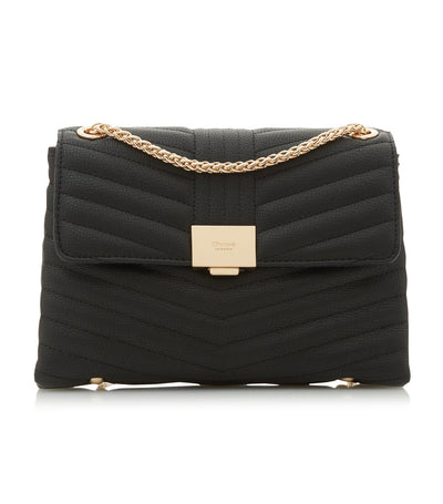 Eyonce DI Quilted Crossbody Bag Black