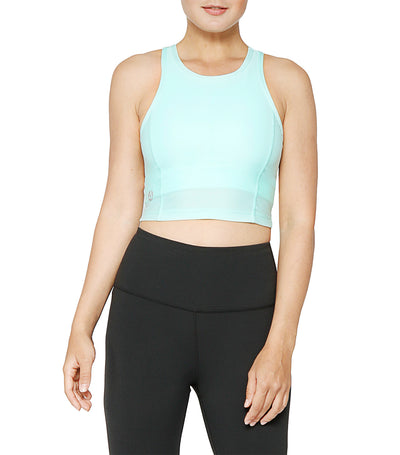 atsui furo sports bra mint green